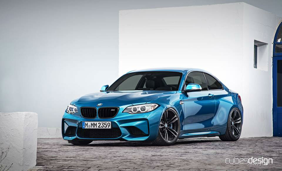 cubesdesign photoshop entwurf zeigt bmw m2 tuning. Black Bedroom Furniture Sets. Home Design Ideas
