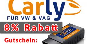 VAG VW Carly Gutschein-Code / Rabatt