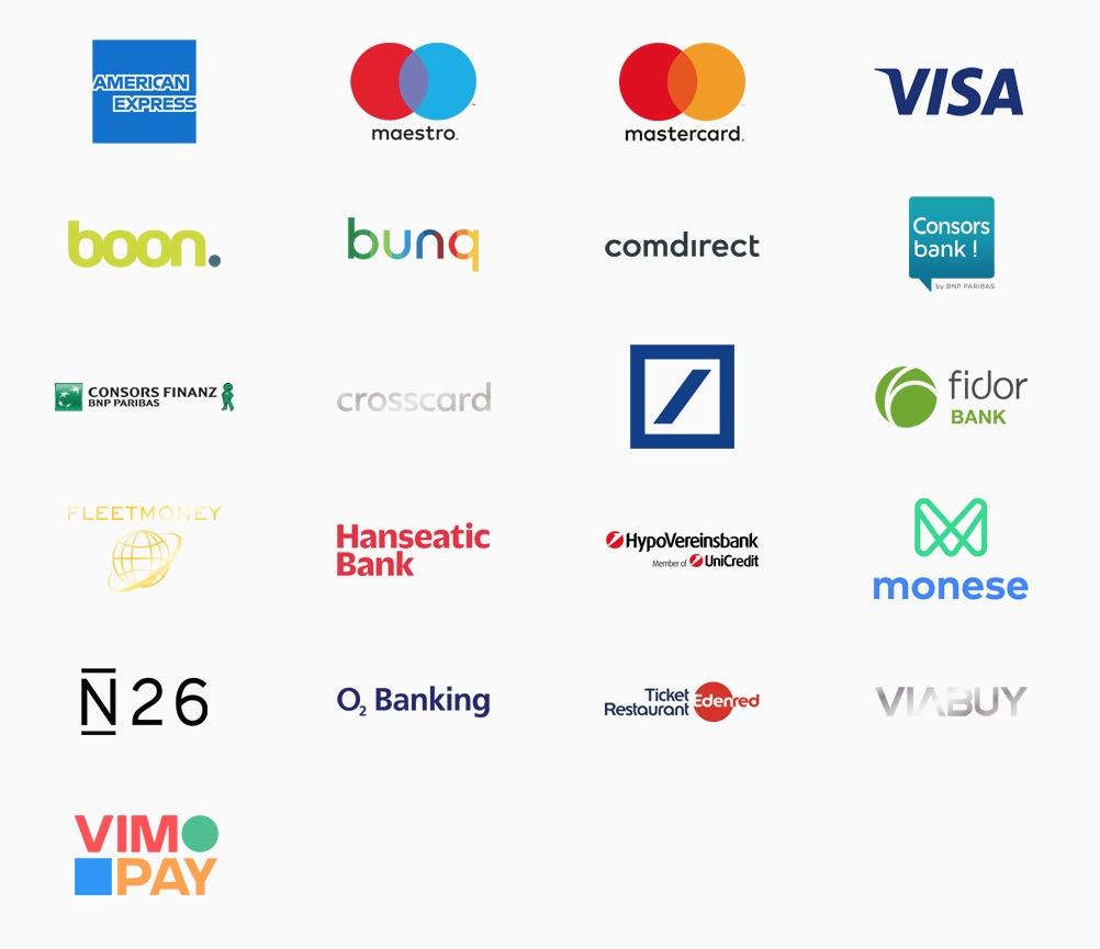 Unterschrift American Express Karte.Apple Pay Kreditkarten Banken Konten Deutschland