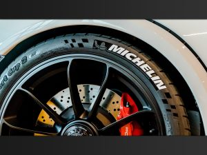 Reifenaufkleber Michelin Reifenbeschriftung