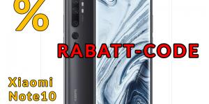 Xiaomi Mi Note 10 Smartphone bester preis rabatt