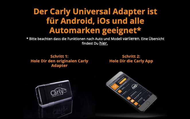 Carly-App und Carly-Adapter