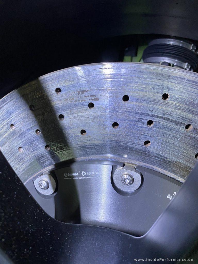 Porsche GT3RS 991 - PCCB Keramik Bremsanlage - Erfahrung & Probleme